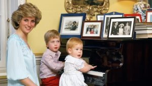 William and Harry's inseparable childhood bond revealed in unearthed note from Diana