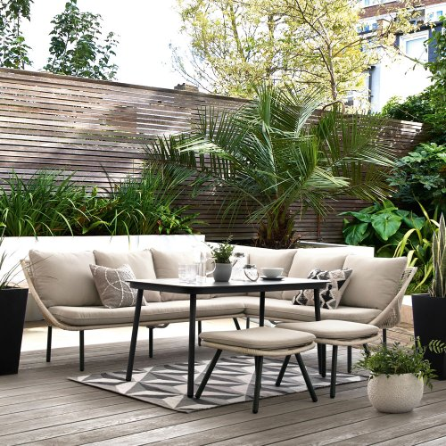 Garden seating ideas – outdoor seating to suit all, from small balconies to family gardens