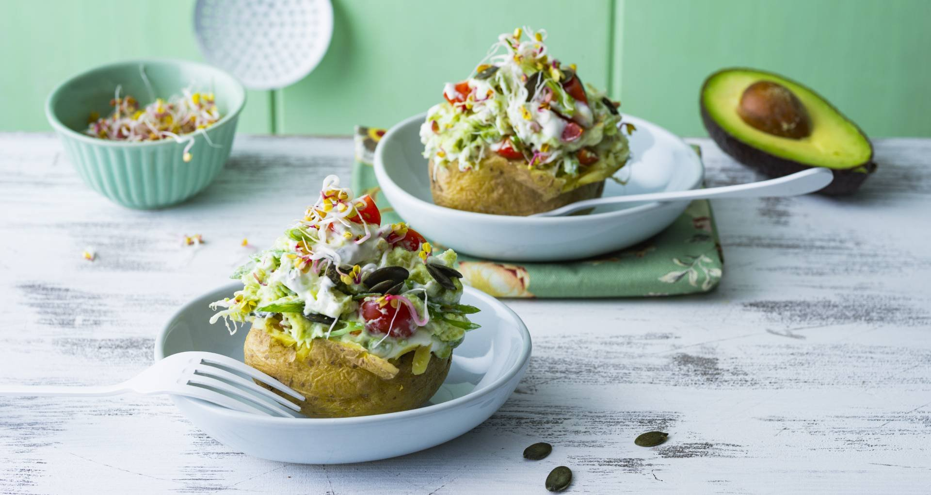 How to cook a baked potato
