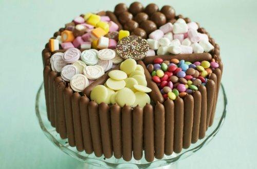 Pick & Mix Chocolate And Sweet Cake