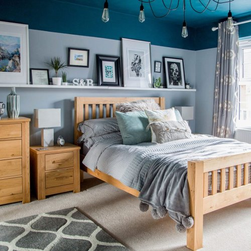Blue bedroom ideas – see how shades from teal to navy can create a restful retreat