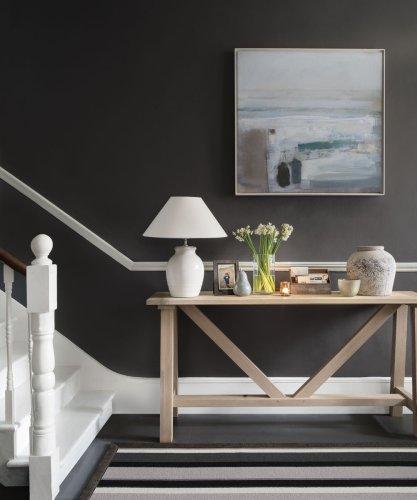 Grey hallway ideas – from moody dark greys to light pastel greys
