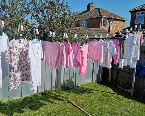 Stacey Solomon's washing line hack means no folding OR ironing – fans are calling it a game-changer