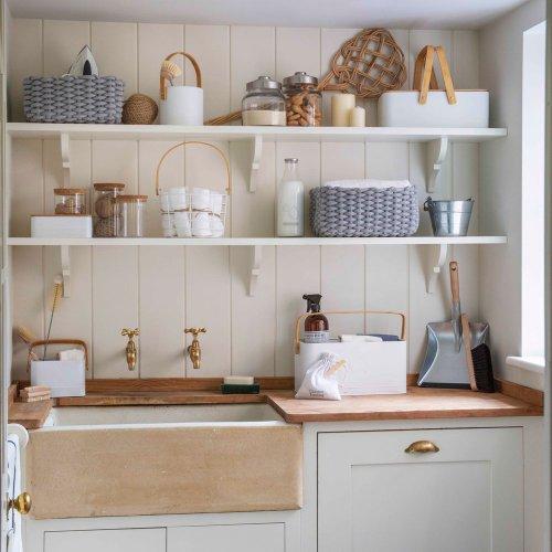 Utility room storage ideas – practical yet stylish ways to organise any size utility area