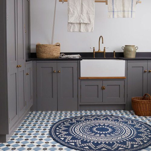 Utility room flooring ideas – including vinyl, water-resistant laminate and more