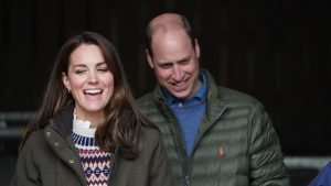 Kate fails to impress William with her DJ skills as he playfully mocks her
