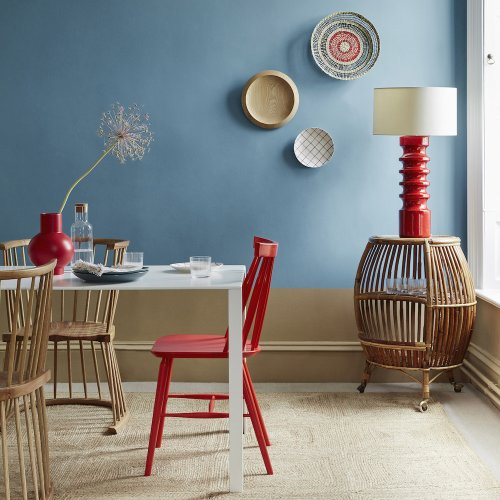 Dining room paint ideas – colours and decor effects to create atmospheric dining areas