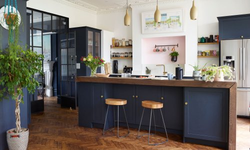 Step inside thoughtfully renovated Edwardian semi – with striking shades in every room