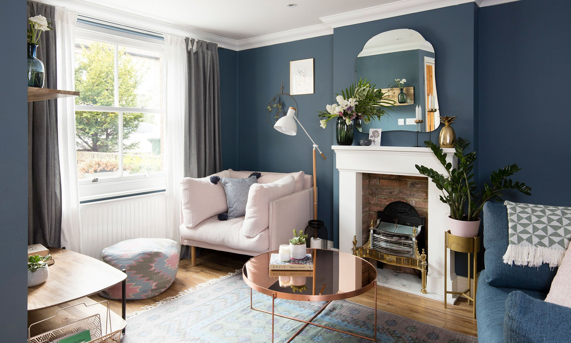 Tour this sophisticated modern-meets-traditional Victorian terrace in London