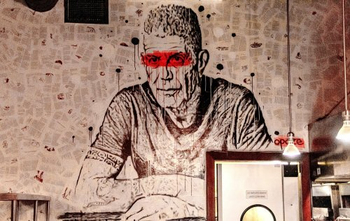 Old Montreal's newest restaurant embraces vandalism, invites artists to coat the walls with graffiti