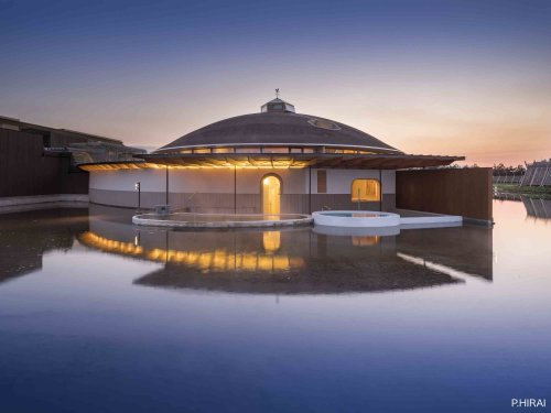 This gorgeous Yamagata hotel designed by architect Shigeru Ban has a stunning new spa