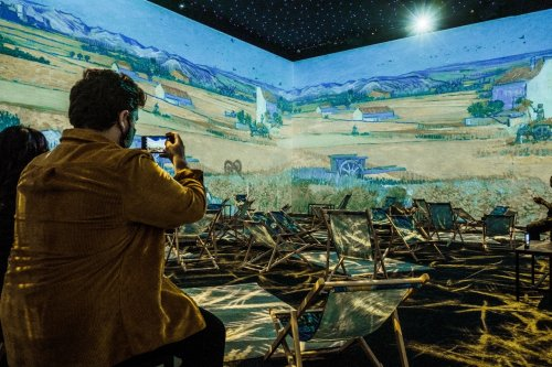 In pictures: inside London's immersive Van Gogh experience