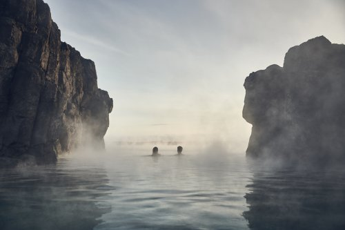 Iceland has a new geothermal lagoon – with a swim-up bar