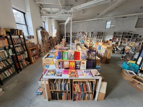 Shop through thousands of finds belonging to a former New Yorker at this pop-up bookstore in Washington Heights