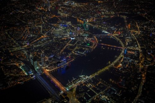 The Illuminated Rivers project just lit up five more bridges across the Thames