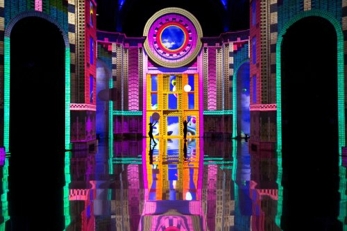 This trippy immersive show is once again transforming this gorgeous NYC landmark