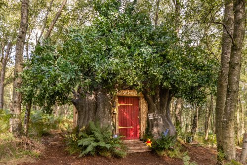You can stay in this adorable Winnie The Pooh cottage