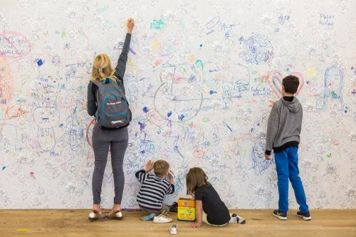 You can draw all over Tate Modern's floor for a month