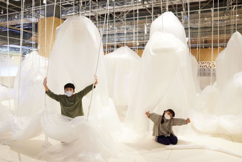 This Tokyo museum has a play area made entirely out of bubble wrap