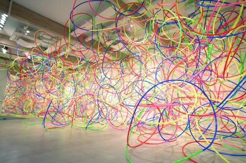 This art installation of 2,021 hula hoops is coming to Hollywood