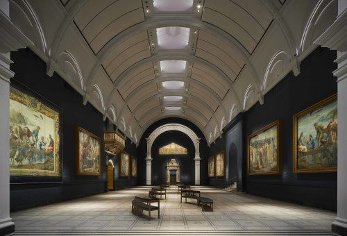 Is this gallery now London's most beautiful art space?