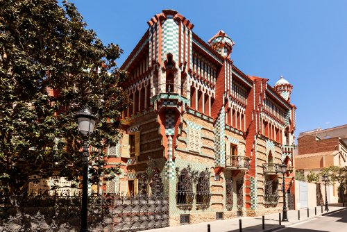 This is your chance to stay in a house built by Antoni Gaudí