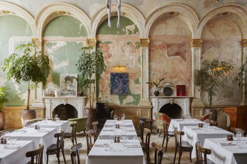 Could this be... the most beautiful restaurant in the world?