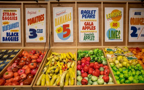 A grocery store where everything is made of plastic bags is coming to L.A.