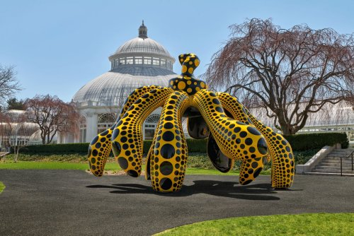 A first look at the major Yayoi Kusama exhibition opening in NYC