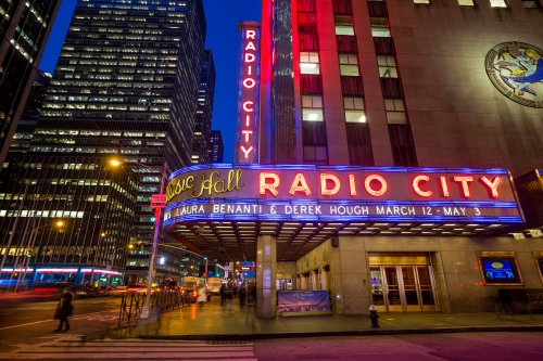 Radio City Music Hall will reopen at 100% capacity for vaccinated audiences