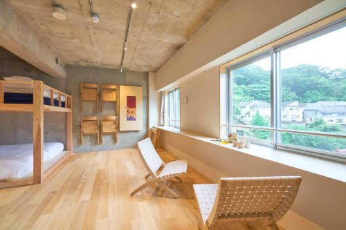 Turn your Mt Takao day trip into an overnight stay at this cool new hotel