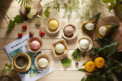 A tropical-inspired ice cream parlour pops up at Haji Lane