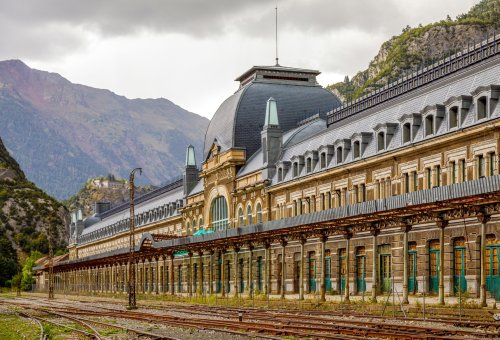 This grand old European train station is being turned into a luxury hotel