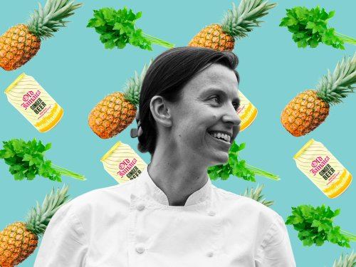 Three-Ingredient Recipe: Pip Lacey's pineapple smoothie