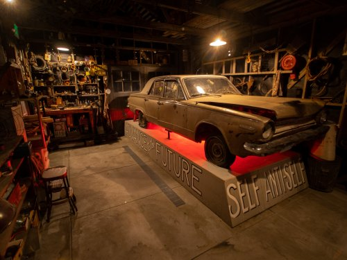 LACMA's modern art collection finds a bright new home (and a dark creepy garage)