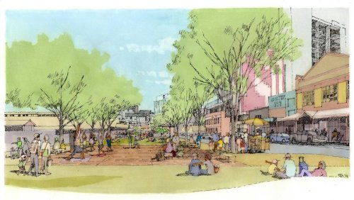 A pop-up park is coming to Queen Victoria Market