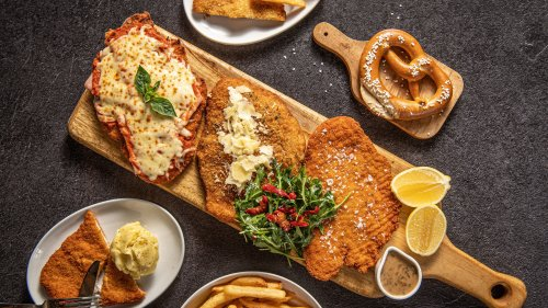 A Sydney bar is making German-inspired winter platters with three types of schnitty