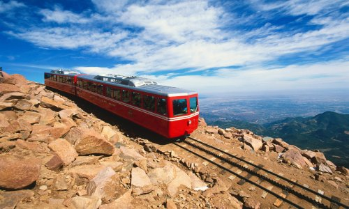 The highest cog railway in the world just reopened in Colorado