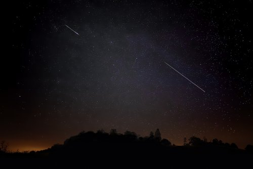 A meteor shower will light up the sky this week