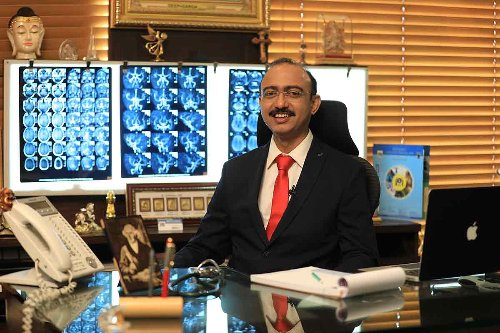 Dr. Jaswant Patil, an allopathic doctor turned homeopathic practitioner.