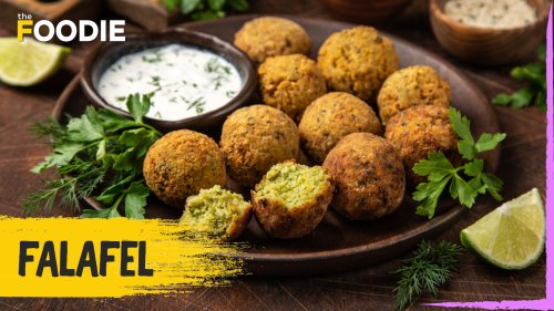 Falafel Recipe   How To Make Falafel   Middle Eastern Recipe   Easy Recipe   The Foodie