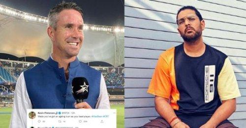 You got to 13 points not 31: Man Utd fan Yuvraj Singh trolls Kevin Pietersen over 'cancel Premier League' post