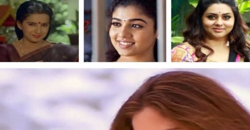 Tamil actresses who worked with actors from 2 different generations of the same family