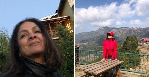 Photos and videos of actress Neena Gupta's stunning home in Mukteshwar