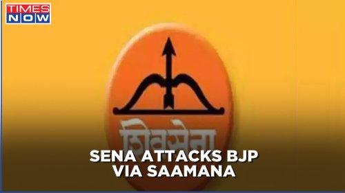 Bollywood Actor Sonu Sood faces I-T dept's heat; Sena hits out at BJP via mouthpiece Saamana