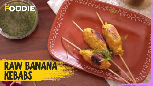 Raw Banana Kebabs | How to make Raw Banana Kebab | The Foodie