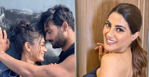KKK11's Nikki Tamboli says 'love is in the air' as Vishal Aditya Singh shares romantic photos with Sana Makbul