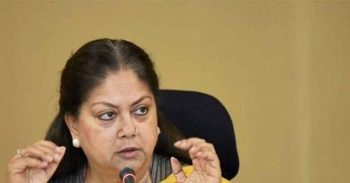 'Women not safe under Congress rule': Vasundhara Raje slams Rajasthan govt over law and order situation