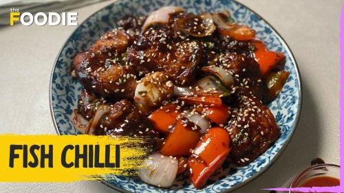 Fish Chilli | How to make Restaurant-style Fish Chilli | The Foodie