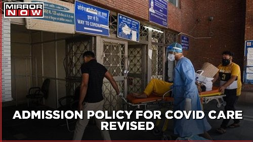 Covid Care: Positive report not mandatory for admission in Covid facility